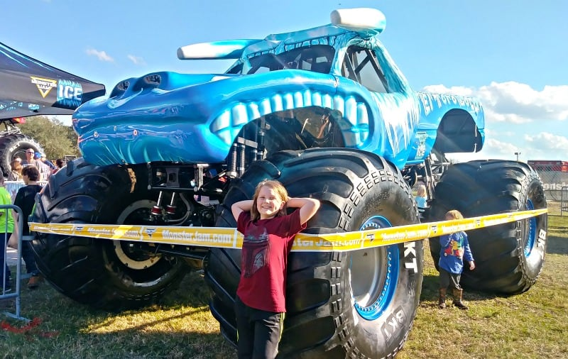 El Toro Loco Ice Monster Truck Fan pic at the Monster Jam Pit Party