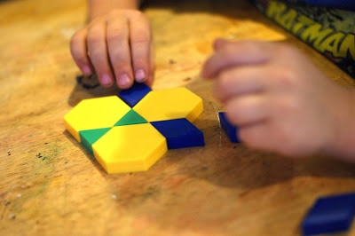 Working with a preschooler is so fun. They love to get their hands on things and learn thru play! One of the great tools you can use when teaching a preschooler are Plastic Pattern Blocks. There are many things you can use them to teach. I have put together 11 lessons you can teach with pattern blocks.