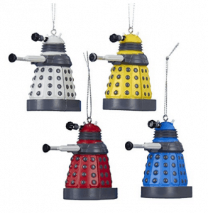 Doctor Who Ornaments 12 Gift Ideas Any Whovian Would Love - Includes 12 categories with over 30 Doctor Who gift ideas! - #doctorwho #giftideas #whovian #doctorwhogift #giftguide