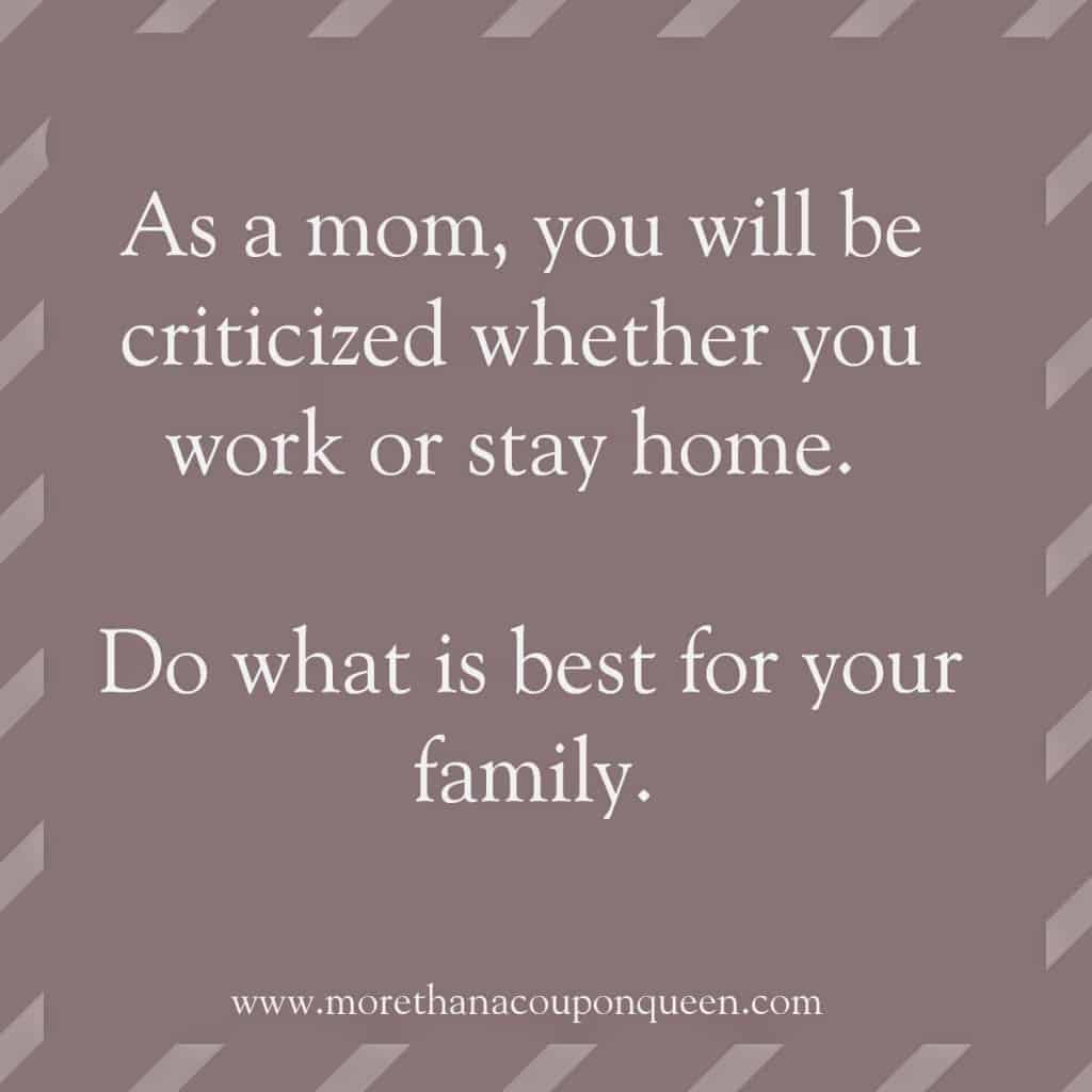 So You Want to Be a Stay at Home Mom?