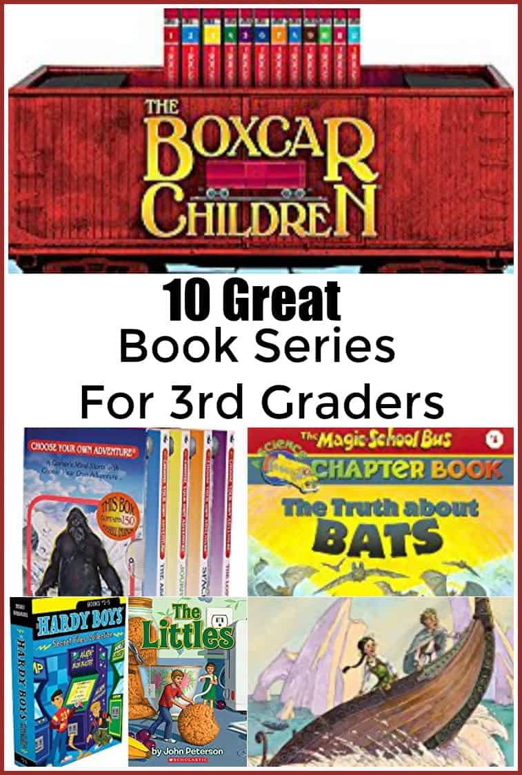 10 Great Book Series for 3rd Graders - #reading #homeschool #books #thirdgrade #readinglist #book #education #edchat