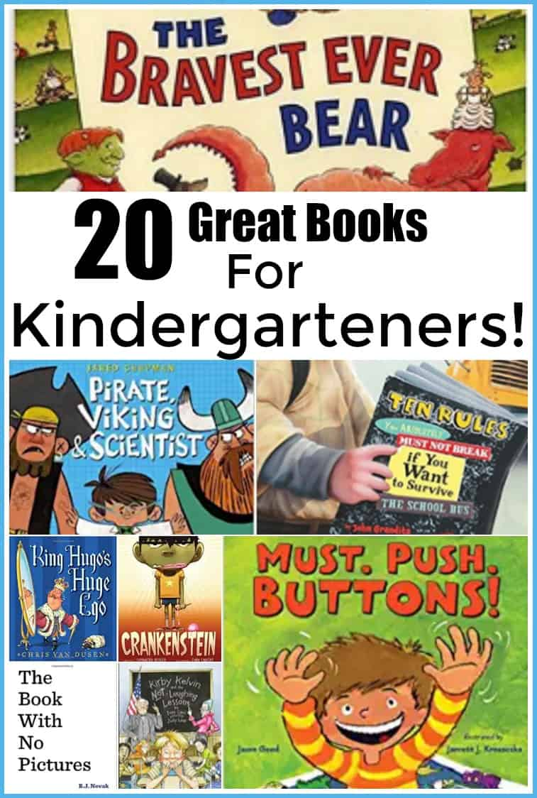 20 great Books for Kindergarteners- 20 Great Books to Read to your Kindergarten Child - #amazingbooks #reading #read #books #book #kindergarten #homeschool #edchat