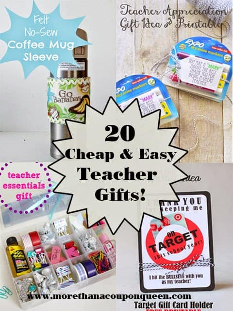 20 Cheap and Easy Teacher Gifts - #Teachergifts #giftideas #diygifts #teachergift #teacher #DIYTeacherGifts