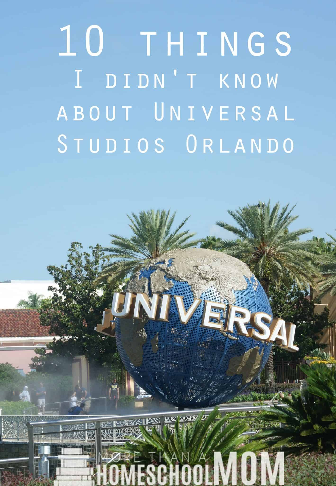 10 Things I didn't know about Universal Studios Orlando - Tips for visiting Universal Studios Orlando and enjoying Diagon Alley - #HarryPotter #UniversalStudios #DiagonAlley #Travel #Florida #orlando #Universal