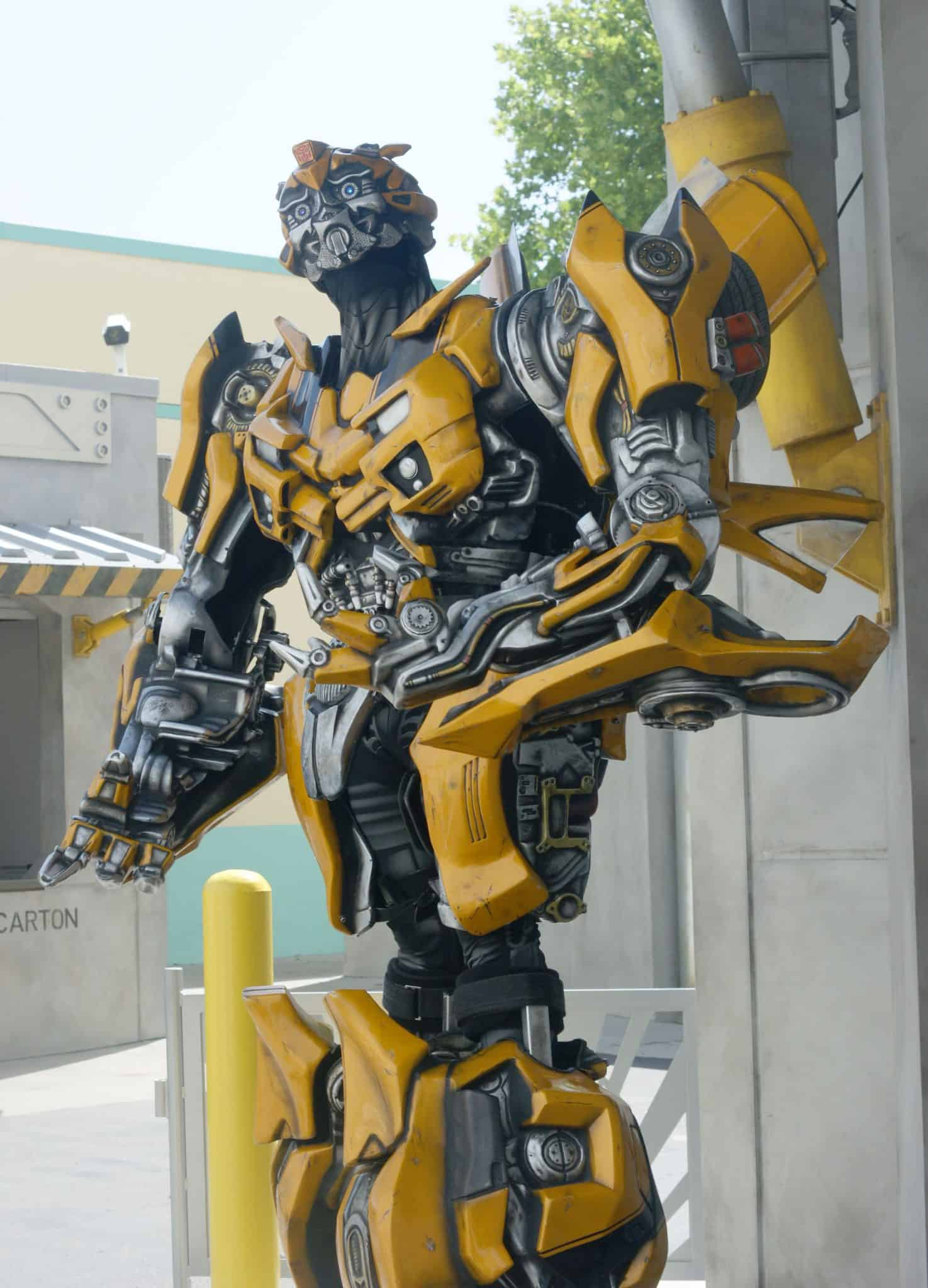 Bumblebee -10 Things I didn't know about Universal Studios Orlando - Tips for visiting Universal Studios Orlando and enjoying Diagon Alley - #UniversalStudios #DiagonAlley #Travel #Florida #orlando #Universal #Transformers