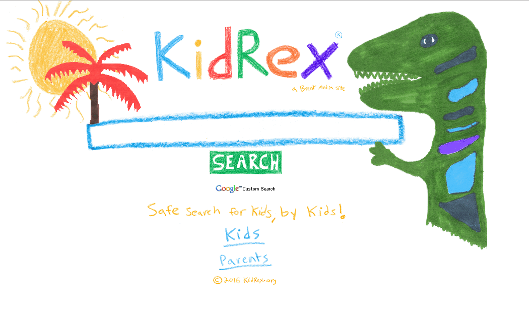 KidRex Search Engine