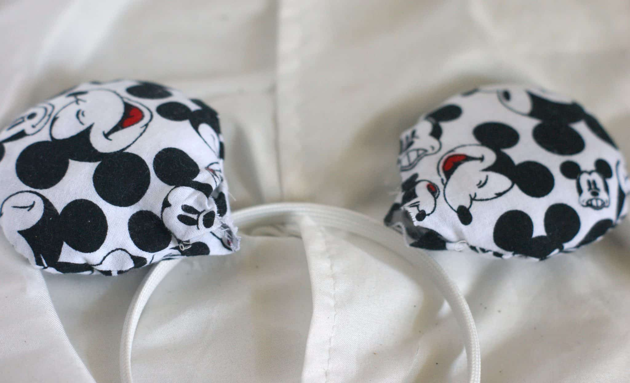 Mickey Mouse Inspired DIY Mickey Ears