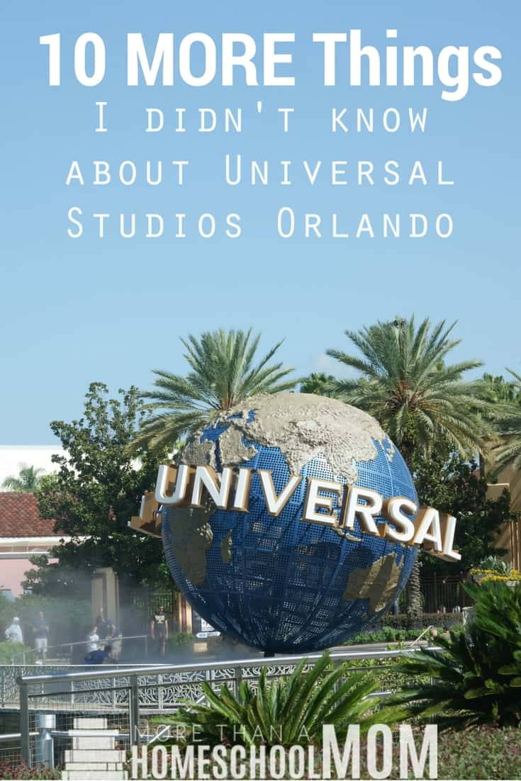 10 MORE Things I didn't know about Universal Studios Orlando