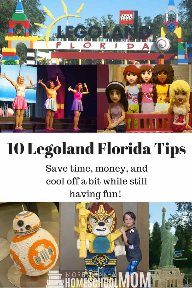 10 Legoland Florida Tips - Save time, money, and cool off a bit while still having fun! - #legoland #lego #florida #centralflorida #travel #traveltips