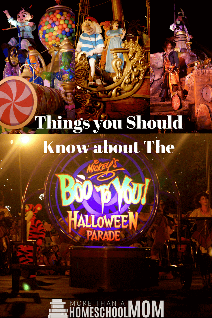 Things you should know about the Boo To You Halloween Parade - MIckey's Not So Scary Halloween Party Tips and Tricks - #Disney #notsoscary #halloween #HalloweenParty #travel #florida #DisneyTips #MagicKingdom #BooToYou