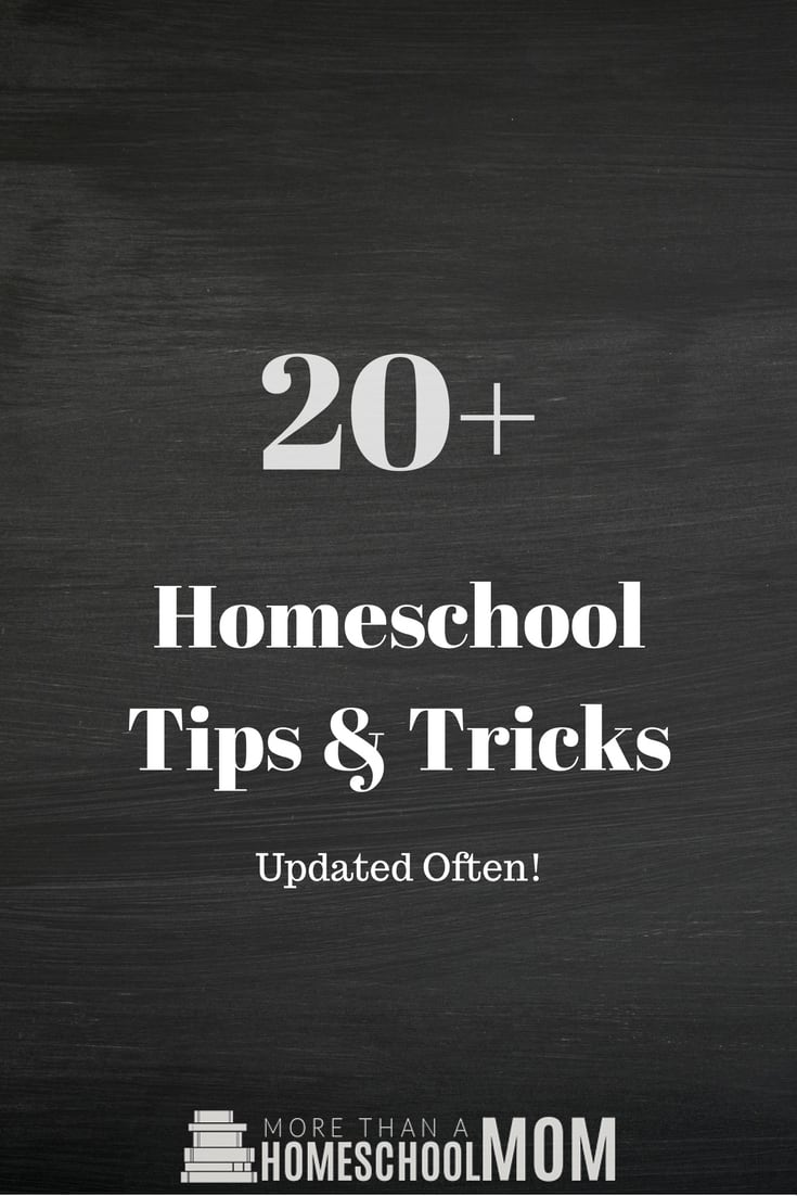 20+ Homeschool Tips & Tricks  - #homeschool #Homeschooltips #homeschooltricks #homeschooling #education #edchat