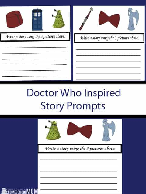 Doctor Who Inspired Story Prompts