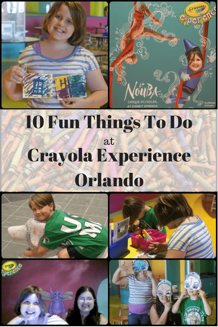 10 Fun things to do at Crayola Experience Orlando - Crayola Experience Homeschool Discount - #crayola #travel #orlando #crayolaexperience #discount #creativefun