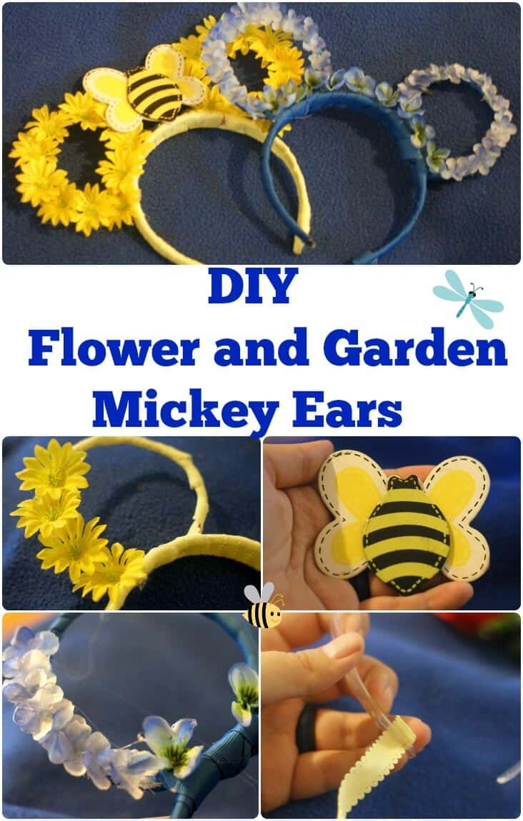 DIY Flower and Garden Mickey Ears - #Disney #DisneyDIY #FreshEpcot #Epcot #DisneyWorld #Travel #Orlando #Florida