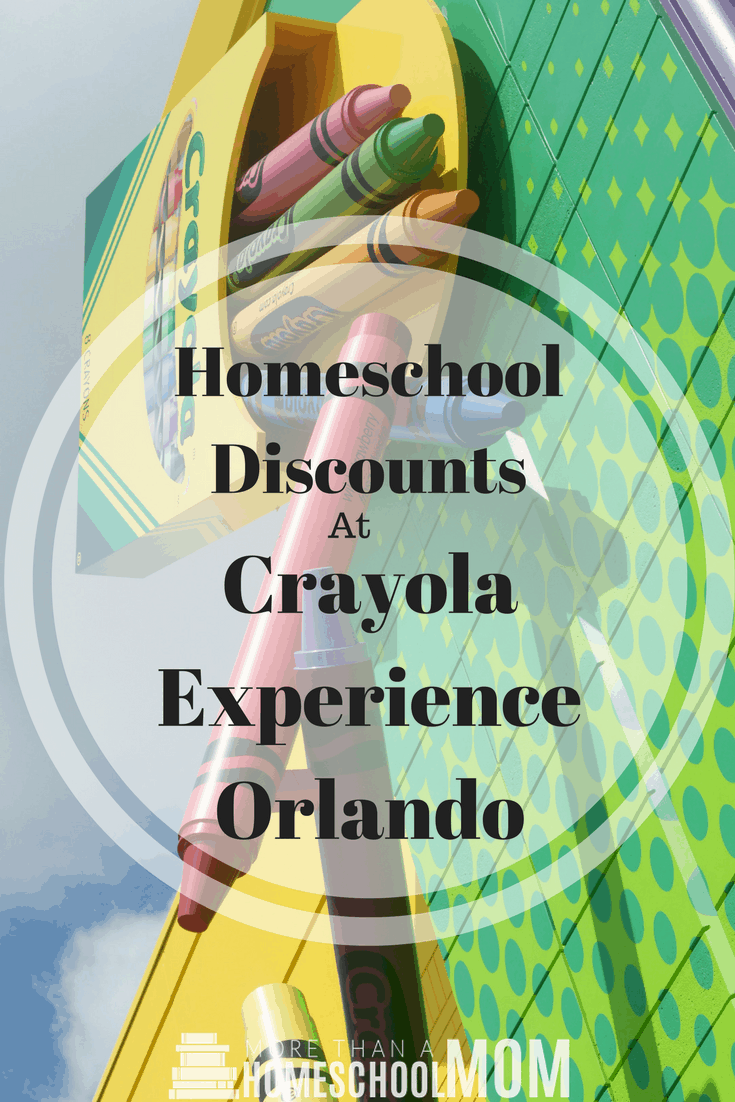 Homeschool Discounts at Crayola Experience Orlando