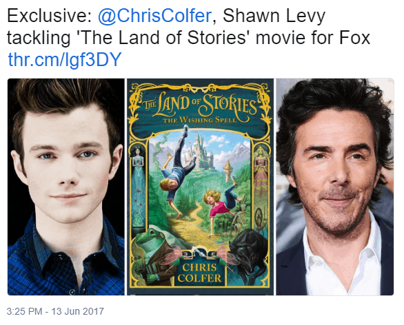 Land of Stories movie to be produced