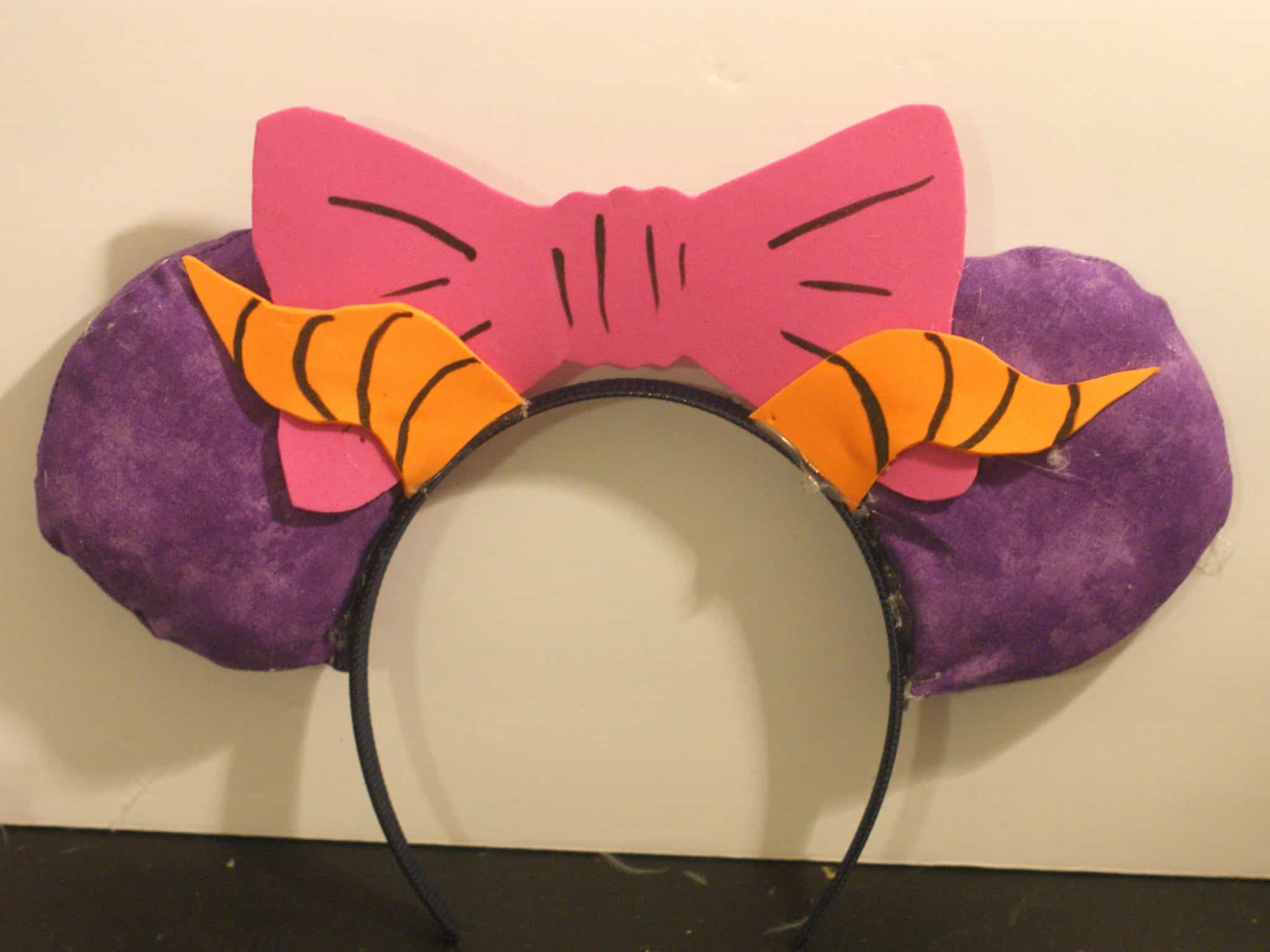 Figment Inspired Mickey Ears DIY Are you a fan of Figment from Epcot? I know I am and had to put together this fun Figment costume DIY for Mickey's Not So Scary Halloween Party.