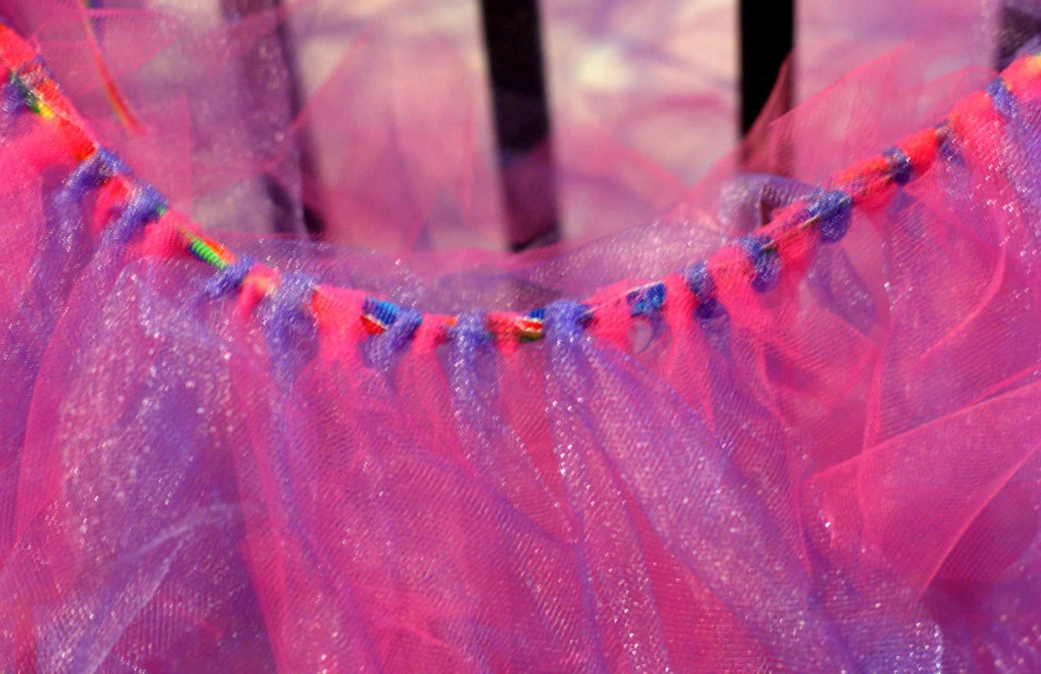 Figment Inspired Tutu Are you a fan of Figment from Epcot? I know I am and had to put together this fun Figment costume DIY for Mickey's Not So Scary Halloween Party.