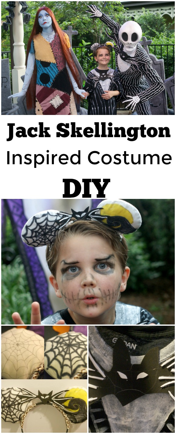 Jack Skellington Inspired Costume DIY