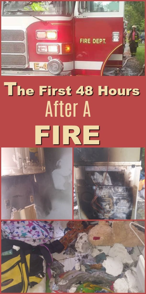 The First 48 Hours After a Fire - What to do after a house fire