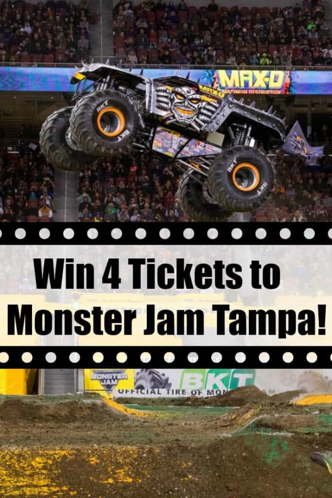 Win 4 Tickets to Monster Jam Tampa