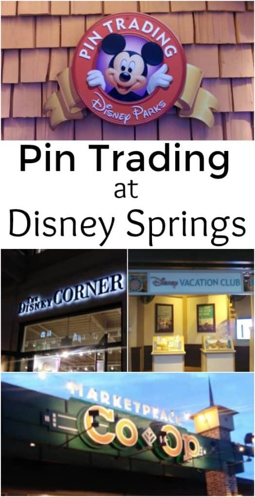 Pin Trading at Disney Springs - 5 tips and a pin trading route. - #Disney #DisneySprings #PinTrading