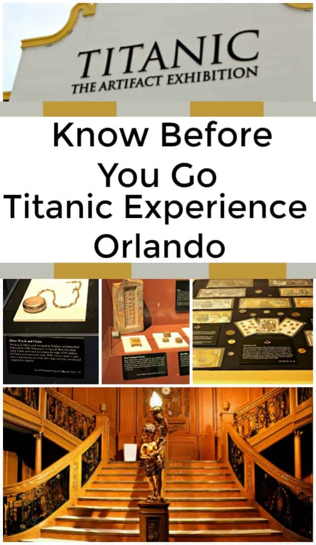 Titanic: The Artifact Exhibition - Titanic experience Orlando. - Have you been considering a trip to the Titanic experience in Orlando? Don't miss these tips, Titanic photos, and Titanic videos from the attraction!