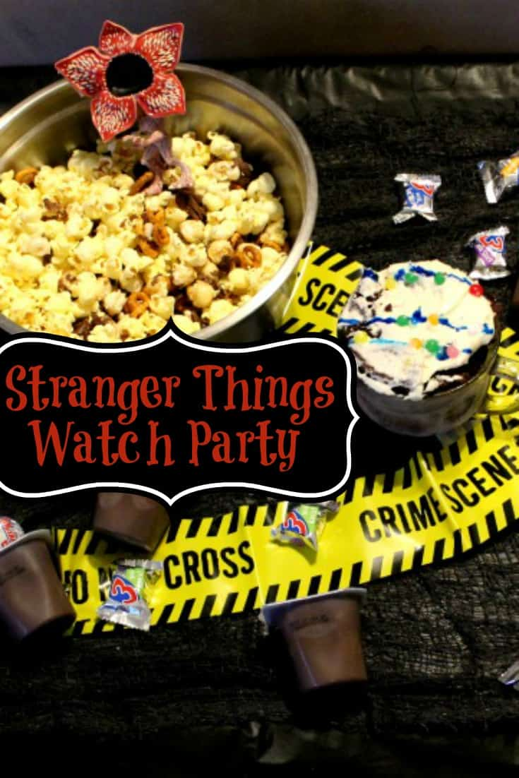 Stranger Things Watch Party - Are you planning a Stranger Things watch party? Don't miss these fun Stranger Things snacks and watch party ideas!
