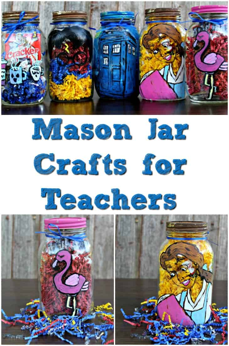 Mason Jar Crafts For Teachers Teacher Gift Ideas