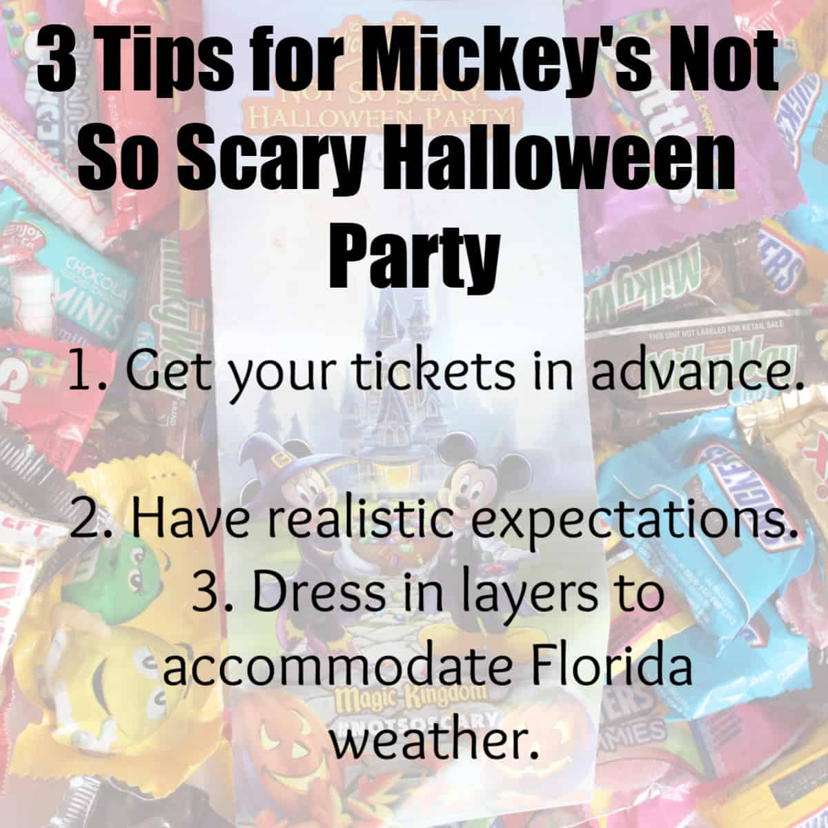 3 Tips for Mickey's Not So Scary Halloween Party