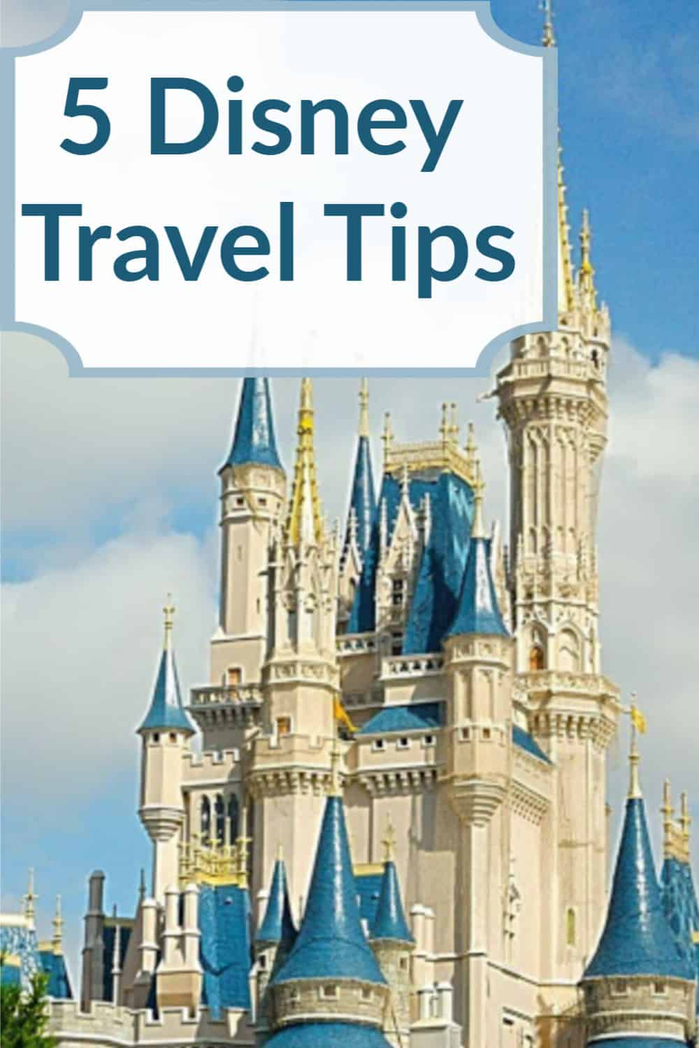 5 Disney travel tips for the Disney fan hoping to make the most of their Disney vacation.