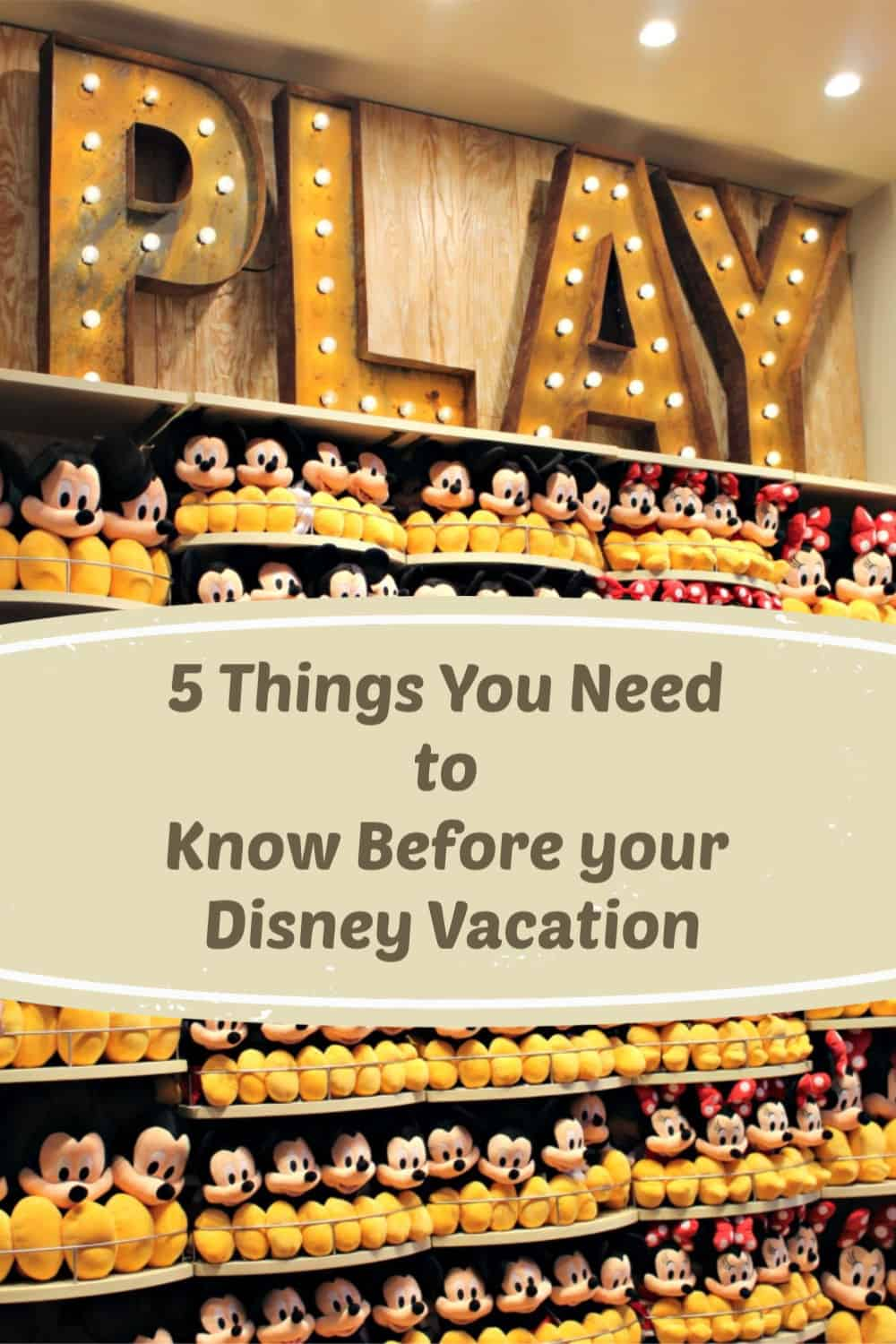 5 Things You Need to Know Before your Disney Vacation - Avoid a bad Disney trip and make sure you know these things before planning your Disney vacation