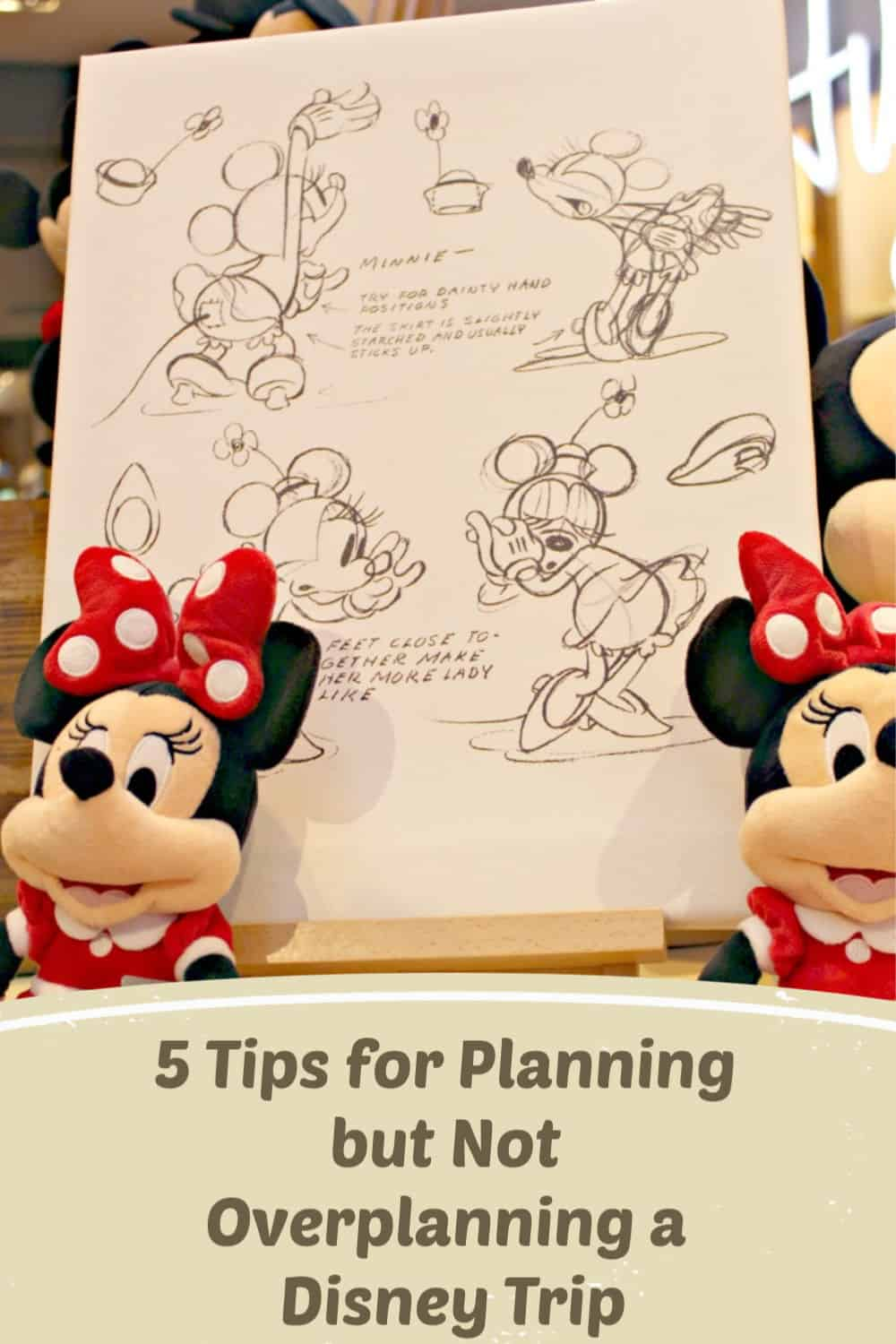 5 Tips for Planning but Not Overplanning a Disney Trip - Don't overplan your Disney trip with these tips to make the most of your Disney vacation