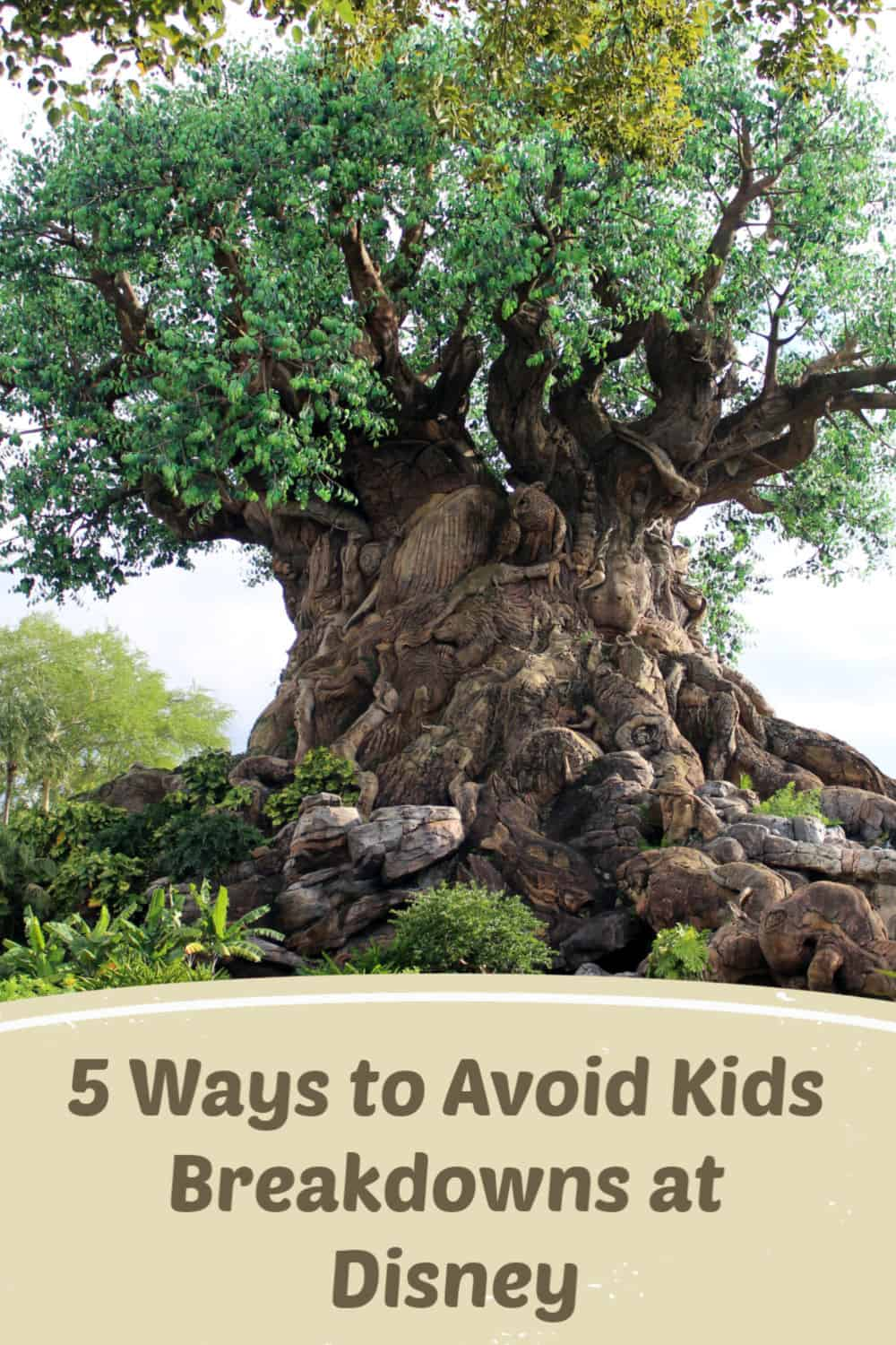 5 Ways to Avoid Kids Breakdowns at Disney - Taking young kids to Disney doesn't have to end with a breakdown. Avoid meltdowns with these simple tips.