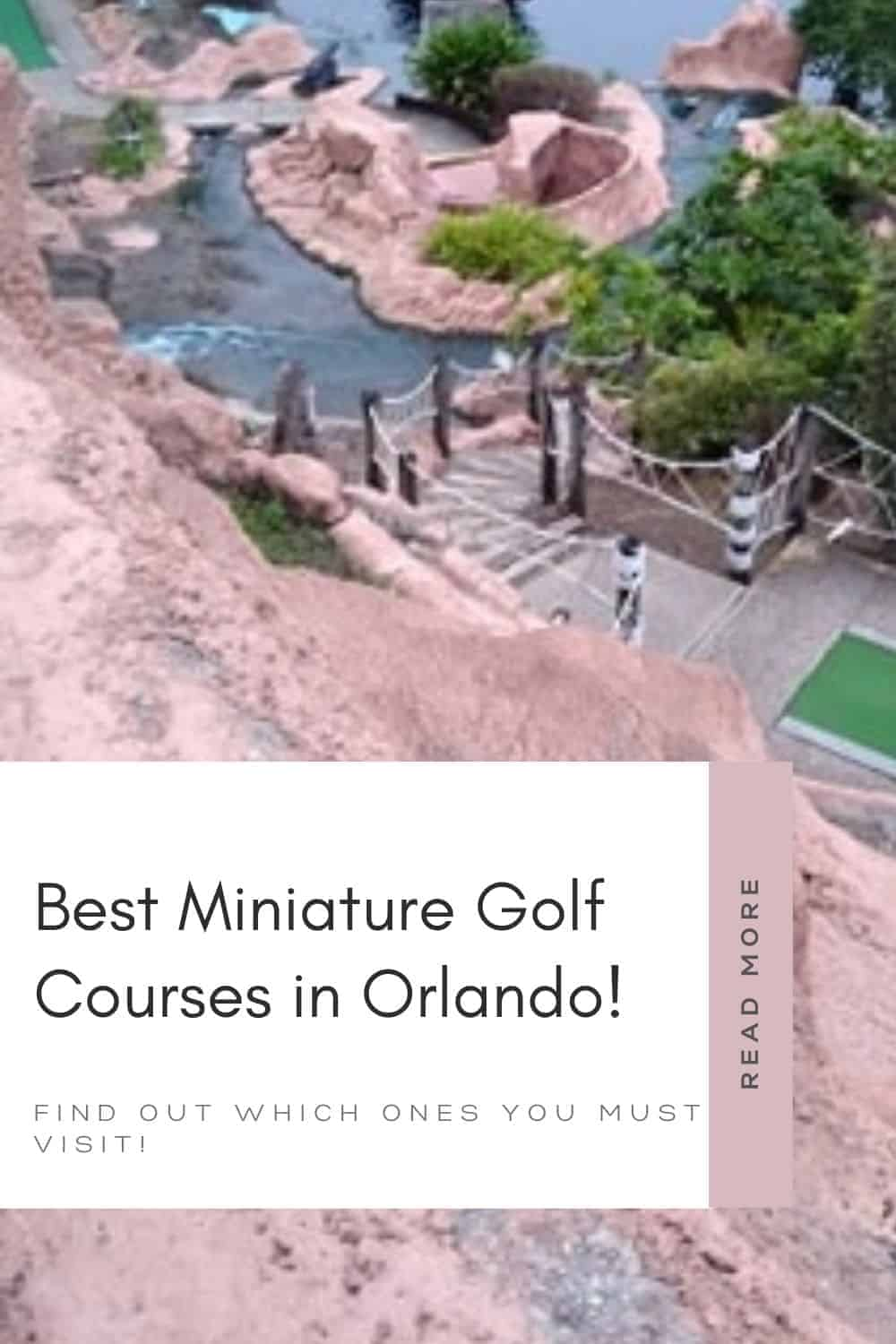 Best Miniature Golf Courses in Orlando - Visit Orlando and enjoy a mini golf adventure with the family. Find out which courses are the best and how to save on mini golf.