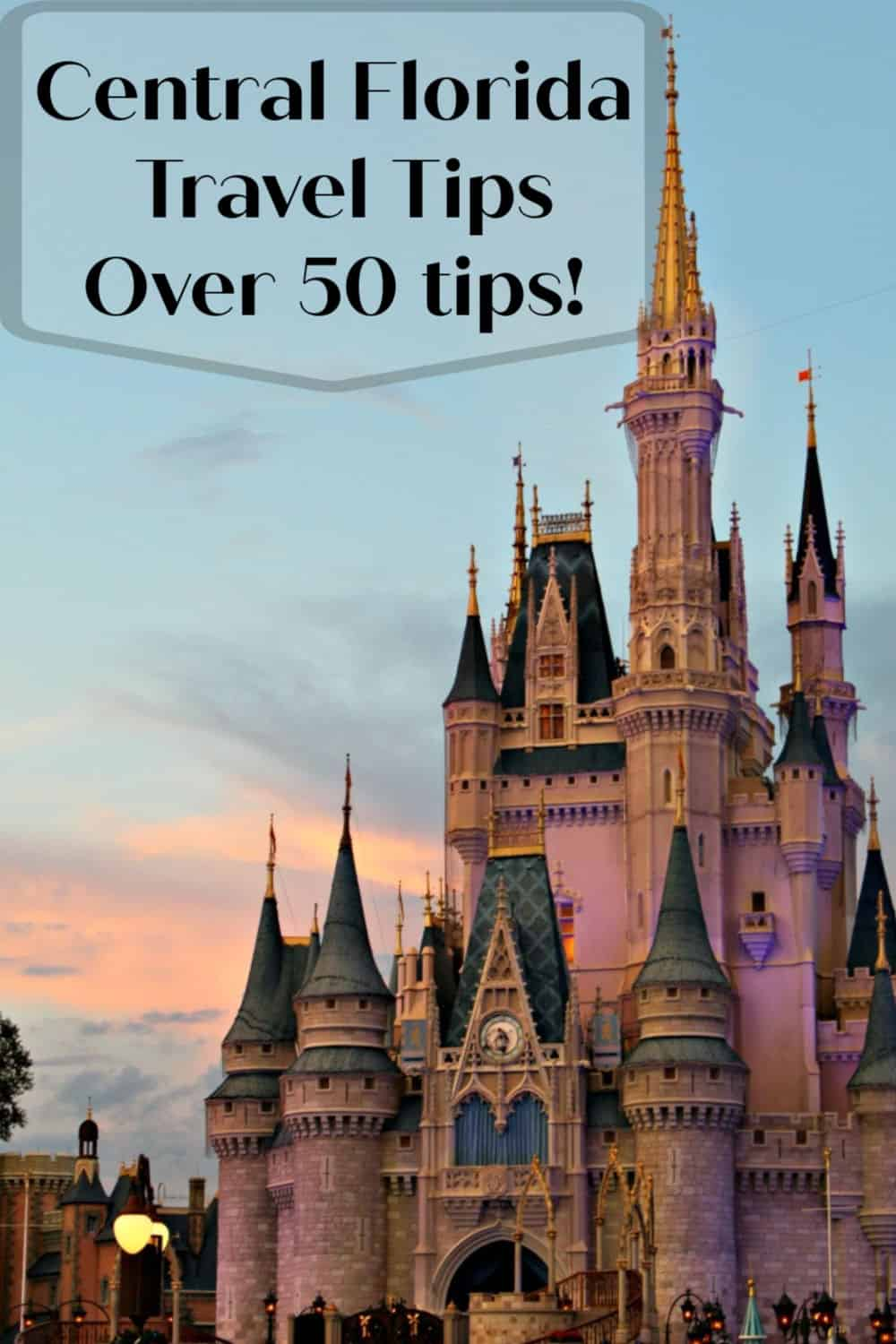 Central Florida Travel Tips - Don'[t miss these tips for traveling to Central Florida that include tips for packing, theme parks, the Florida heat and so much more! #Florida #travel