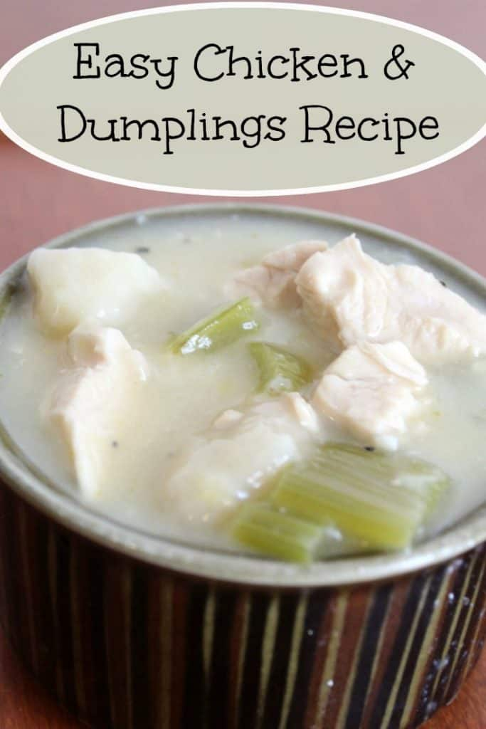 Looking for a delicious dinner option? Don't miss this easy crock pot chicken and dumplings recipe! Full of strong flavor & easy to make! - #recipe #crockpot #dinner #mealplan