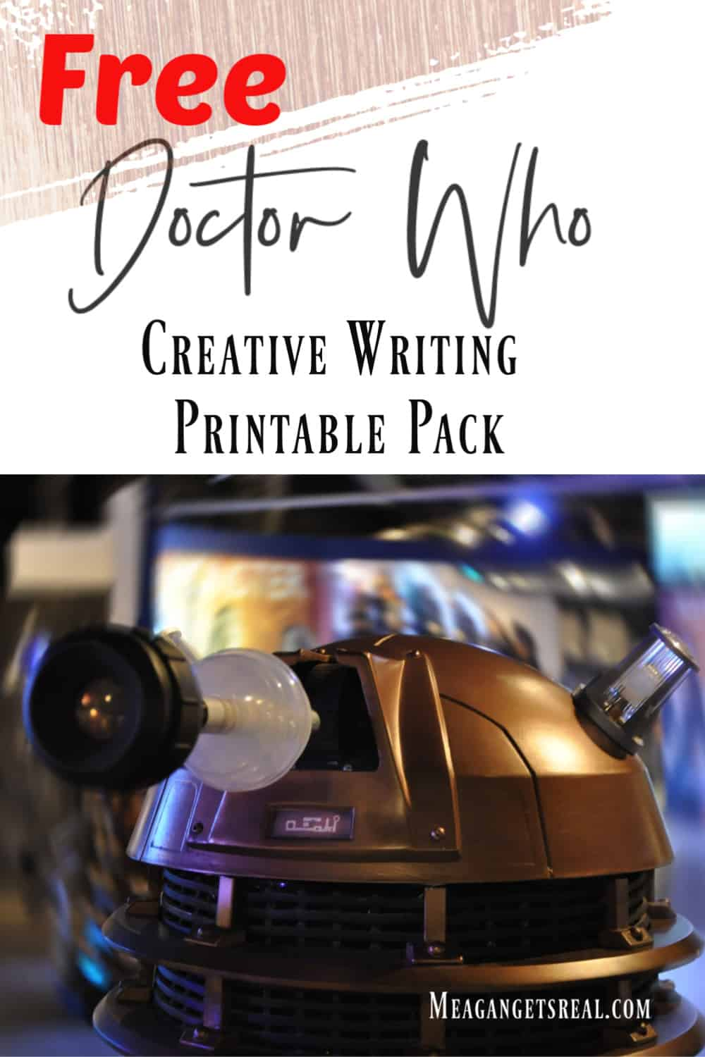 Are you working on creative writing with a whovian this year? Don't miss these Doctor Who Inspired writing printable pages!