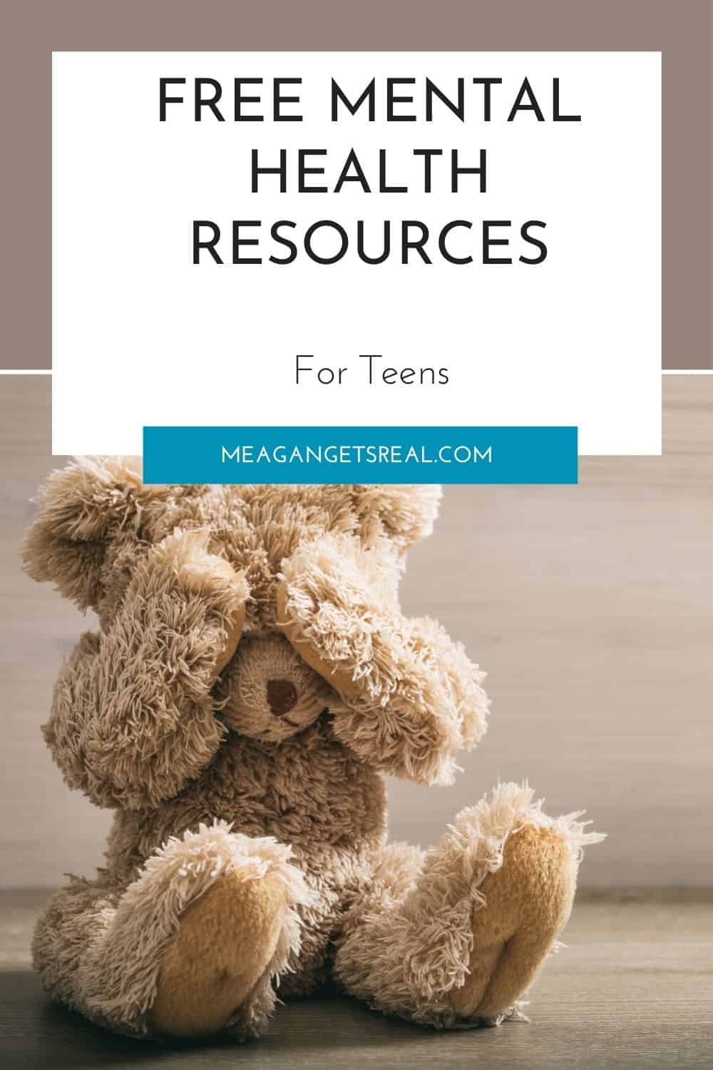 Free mental health resources for teens to get through crisis situations such as suicide, sexual assault, trafficking, abuse, and more! (Crisis Phone Numbers Included)