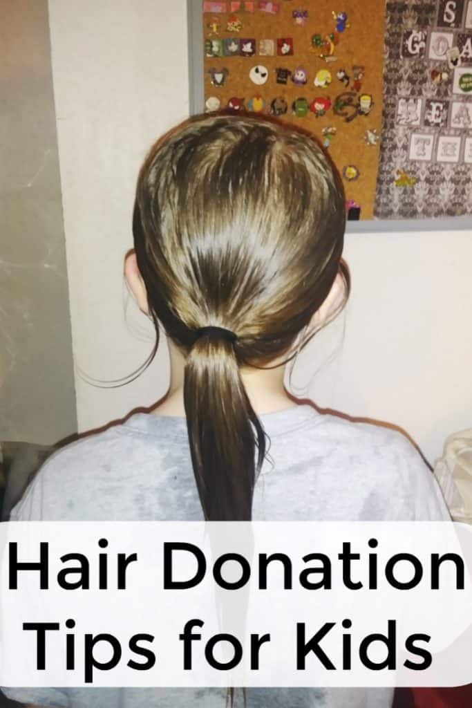 Don't miss these hair donation tips for kids. Find out where to donate hair, how to prepare hair for donation, and whether boys can donate hair.  - #HairDonation #WigsForKids #Parenting