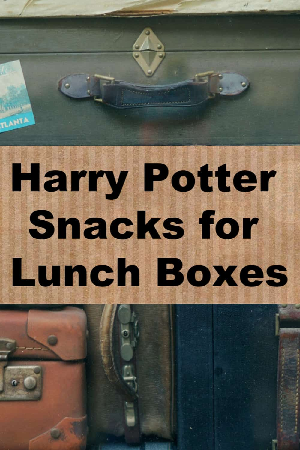 Harry Potter Snacks for Lunch Boxes for your favorite Harry Potter fan. These Harry Potter snacks are perfect for lunch or for a Harry Potter party!