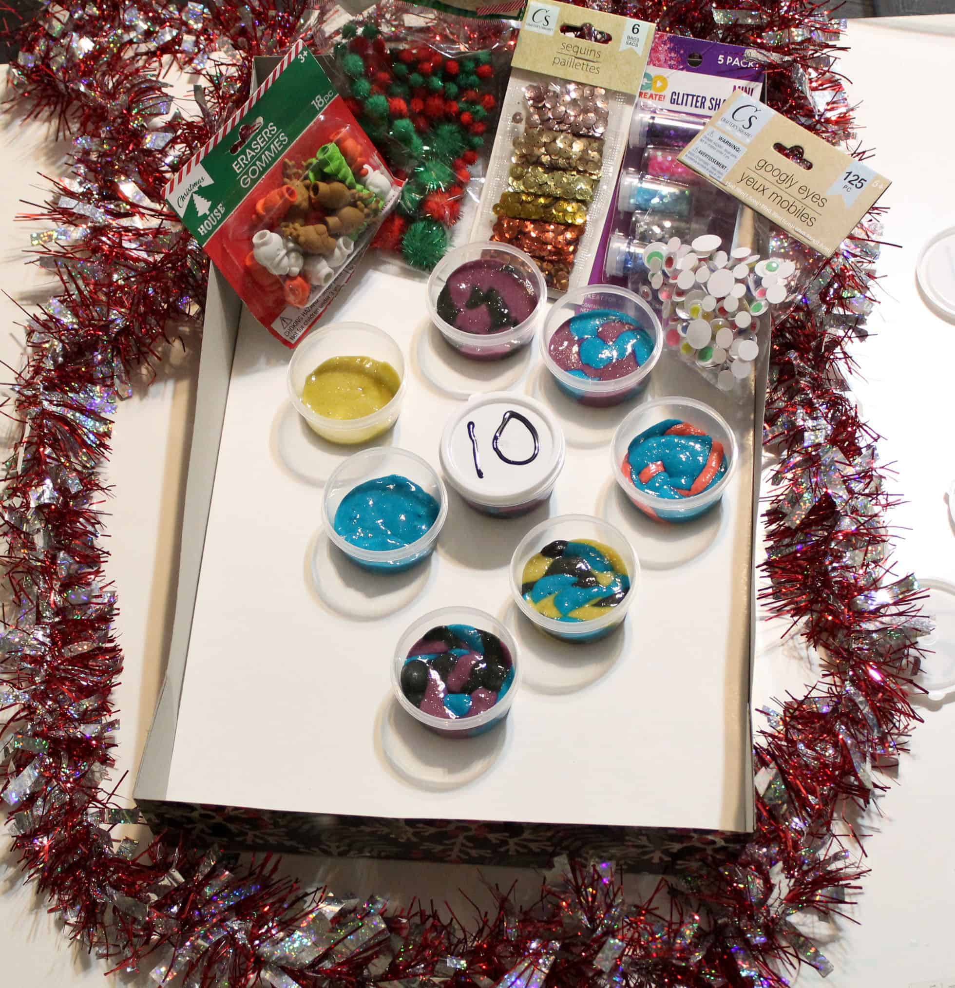 slime Advent Calendar Items to add to slime