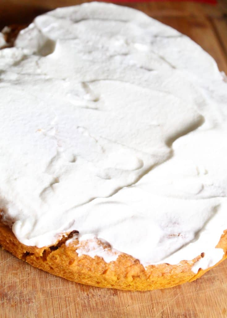 This pumpkin spice cake recipe is the perfect fall dessert for any table! This easy dessert recipe would also make the perfect dessert to bring to Thanksgiving.