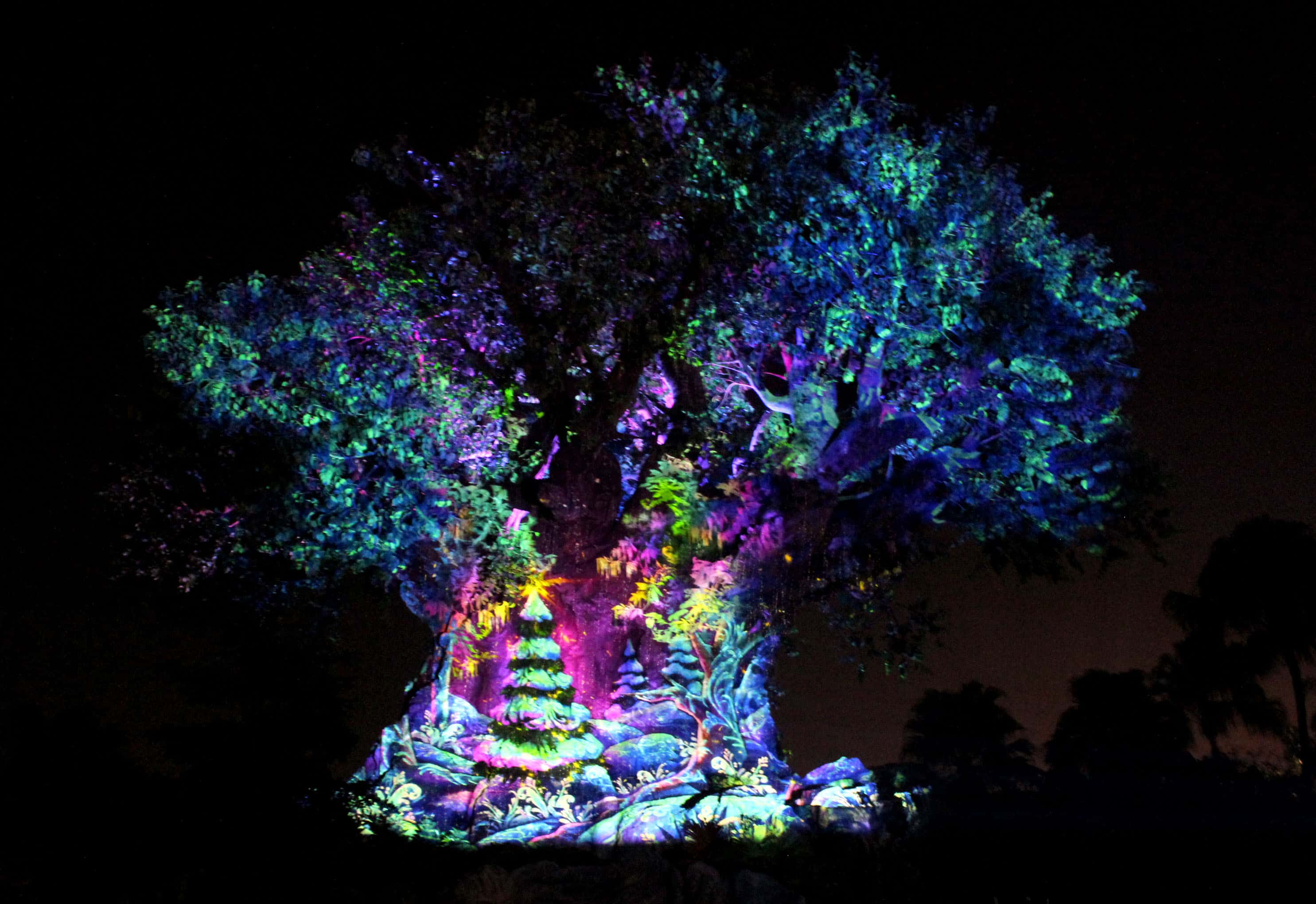 Holidays at Disney's Animal Kingdom Tree Awakening