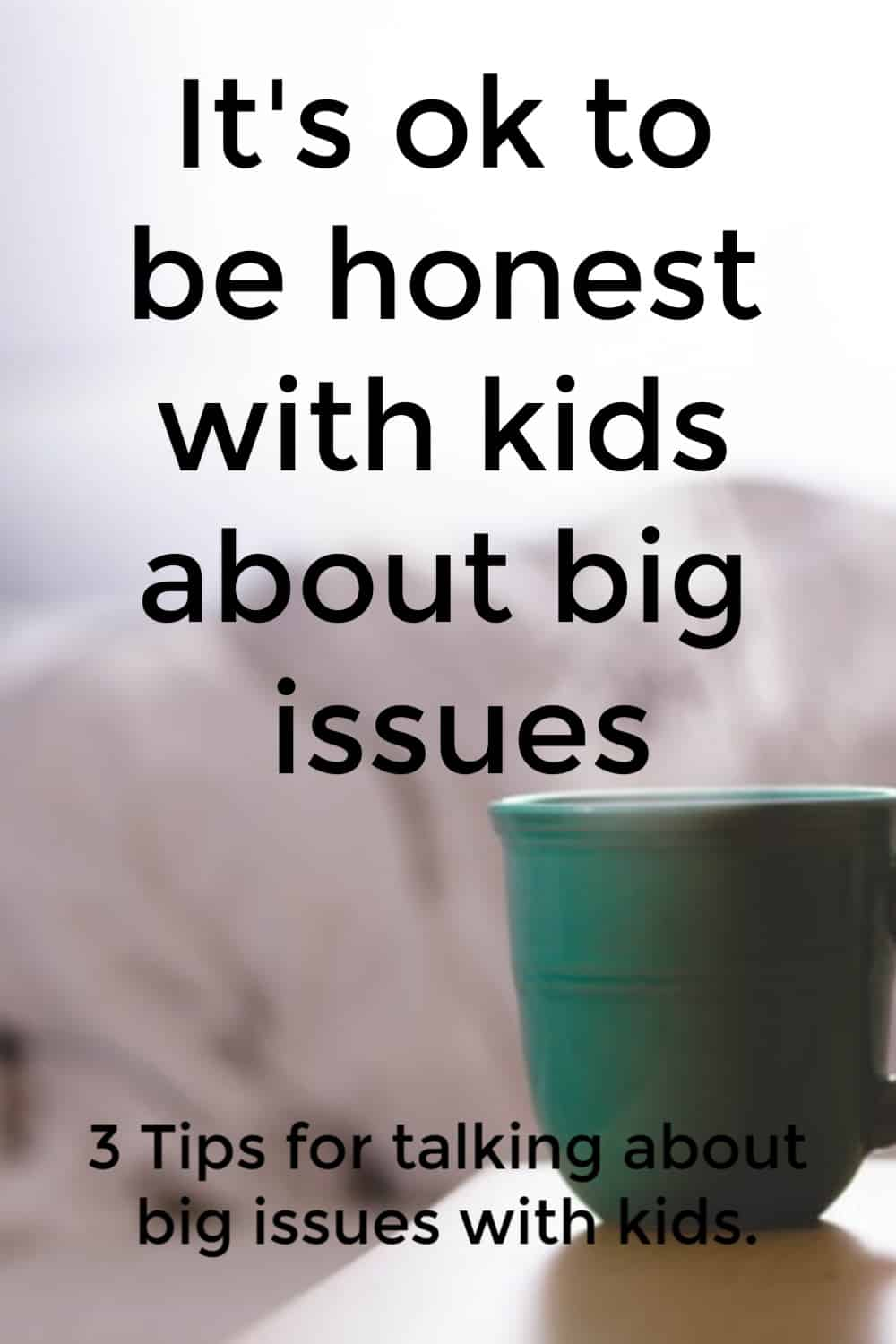 3 Tips for talking about big issues with kids. Support for moms doesn't have to be hard to find with this comprehensive guide filled with parenting resources for moms you won't want to miss.