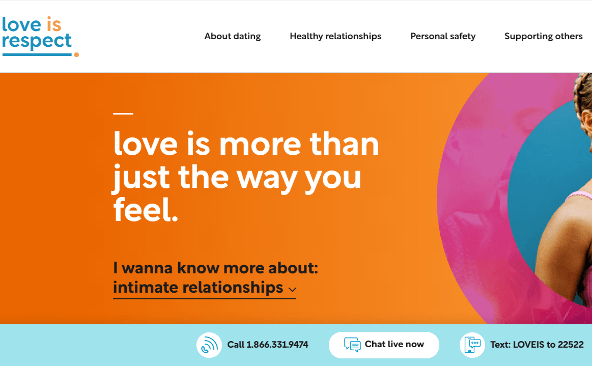 Love is Respect Relationship Counseling for teens