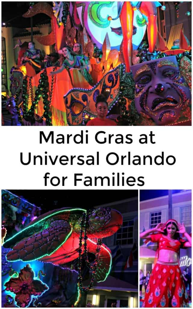 Mardi Gras at Universal Orlando for Families