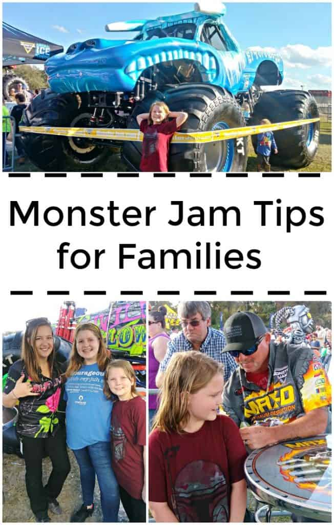 If you are planning to go to Monster Jam with your family you won't want to miss these Monster Jam tips for families. Find out how to best enjoy the show and what you need most to make it fun for the whole family.