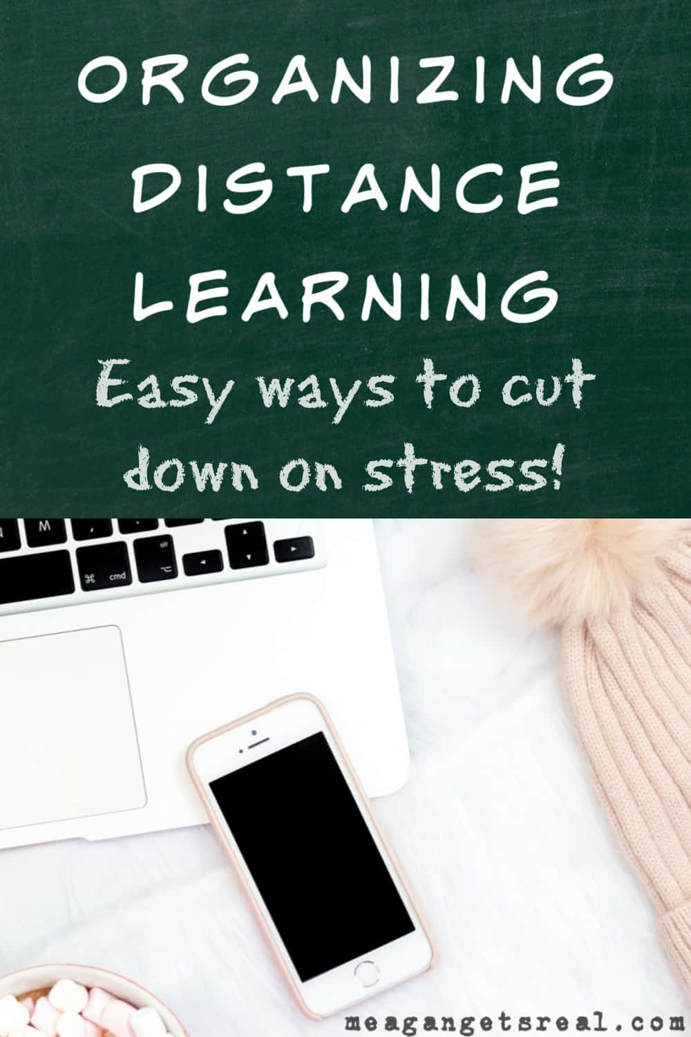 Are you struggling with organizing distance learning? Don't do it alone! I have a really easy way to help you organize and regain your peace!