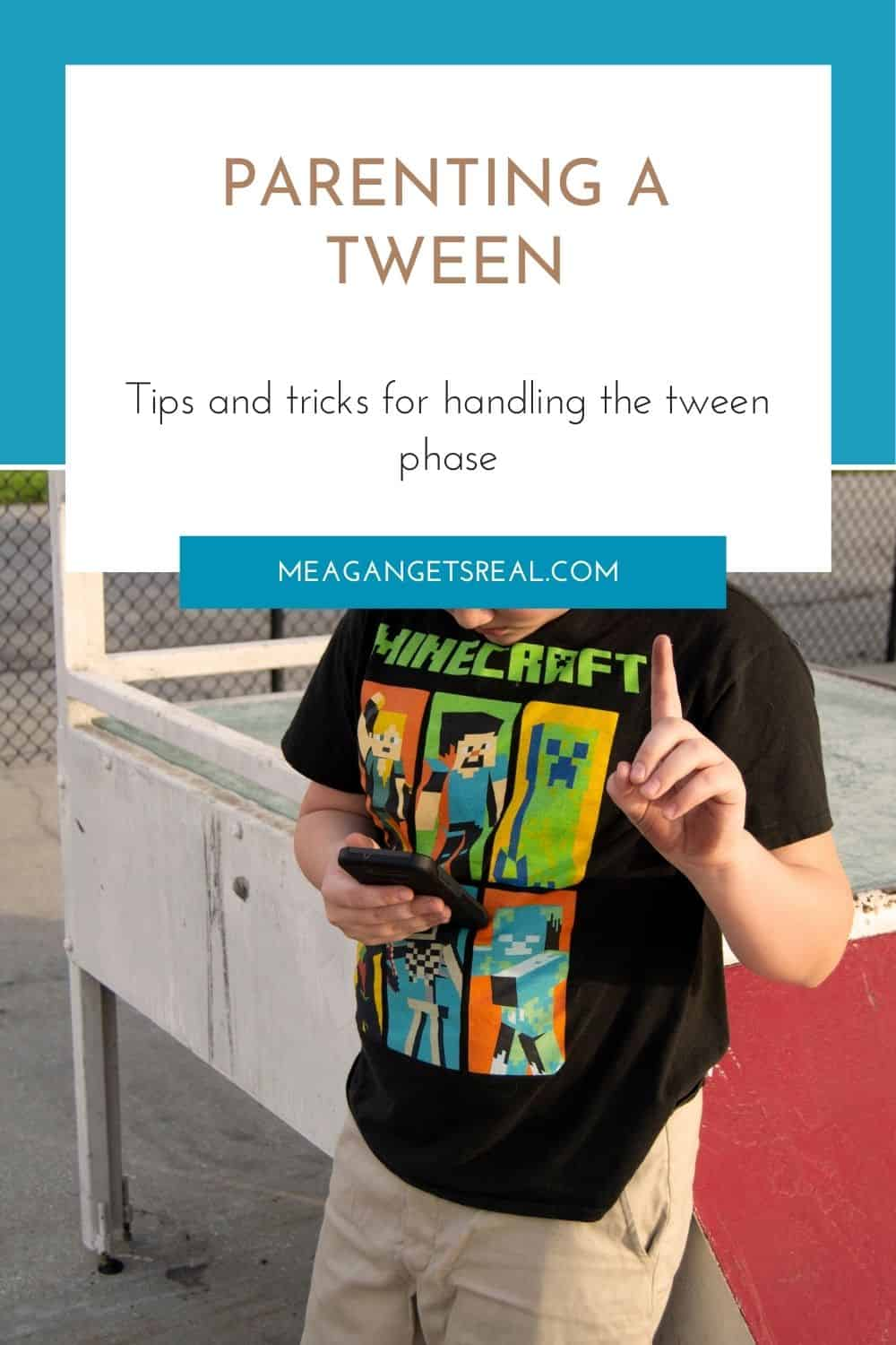Parenting a tween - Tips and tricks for handling the tween phase